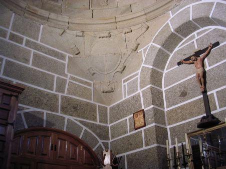 Interior de la sacristía de Hinojosa