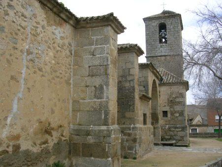 Iglesia de Hinojosa. Fachada Sur