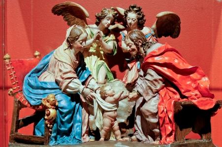 Primeros pasos de Jesús. 1692-1706. Museo de Guadalajara (Fuente: Blog Arte-Paisaje)