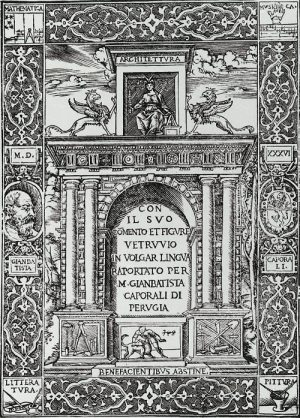 Tratado de Vitruvio (Venecia, 1536)