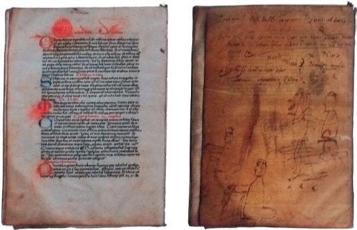 Manuscrito de Vitruvio 1390