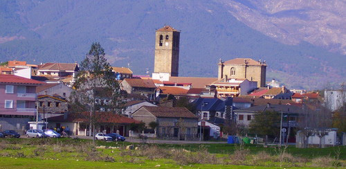 Vista general de La Iglesuela (Toledo)