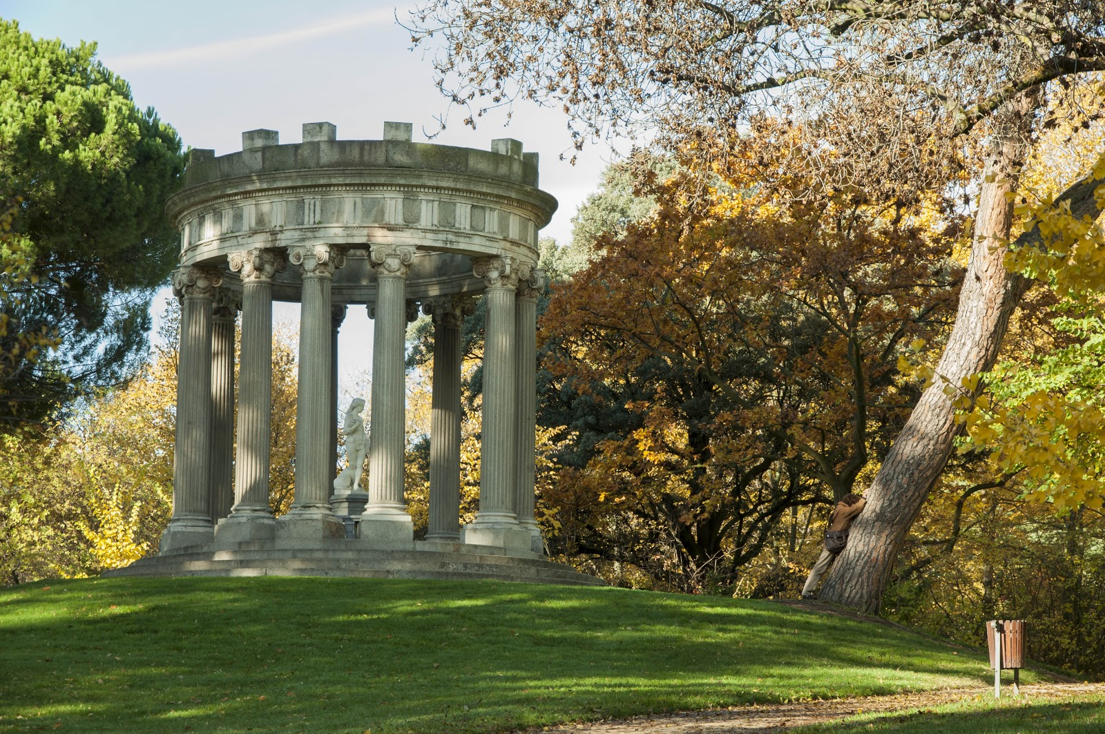 El templo circular en el jard n ingl s the circular for Jardin en ingles