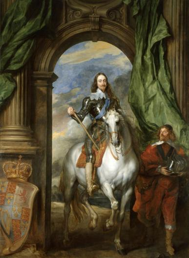 Charles_I_with_M._de_St_Antoine_(1633);_Anthony_Van_Dyck