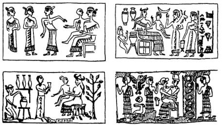 Sellos sumerios