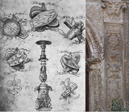 Decoración palacio Antonio de Mendoza
