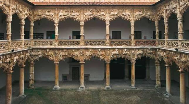 Patio Palacio del Infantado Guadalajara