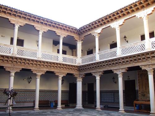 Patio palacio don Antonio de Mendoza