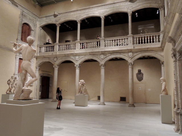 Patio Palacio Velez Blanco
