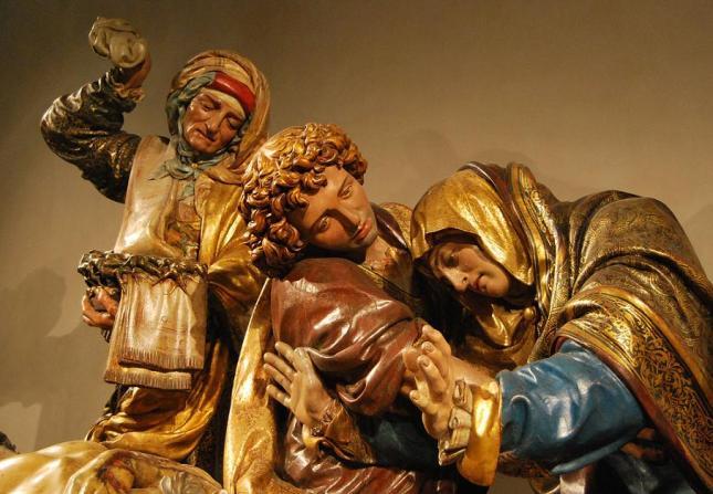 Entierro de Cristo Juan de Juni