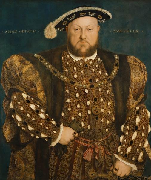 Enrique VIII Hans Holbein el Joven
