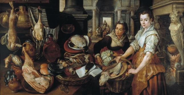 1568- Beuckelaer. prado martha picture