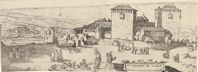 Alcázar de Madrid 1534