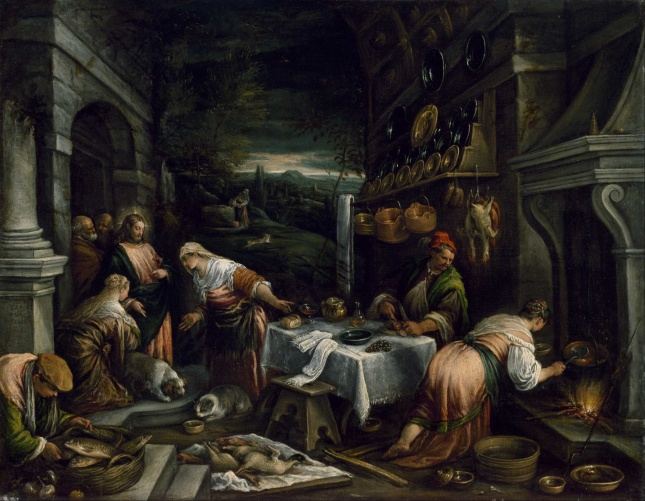 Jacopo_Bassano_-_Christ_in_the_House_of_Mary,_Martha,_and_Lazarus_-_Google_Art_Project (1)