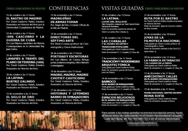 Conferencias y Visitas