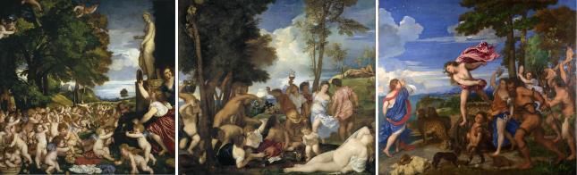 Tiziano mitologías