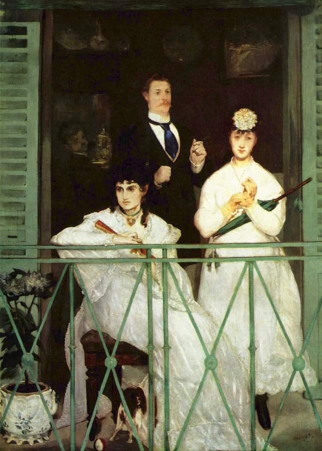 1868-1869. El balcón. MANET