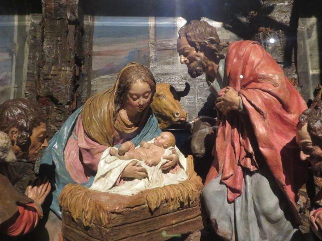 Nacimiento (ha. 1689-1706). Luisa Roldán, La Roldana. Convento de Santa Teresa (Madrid)