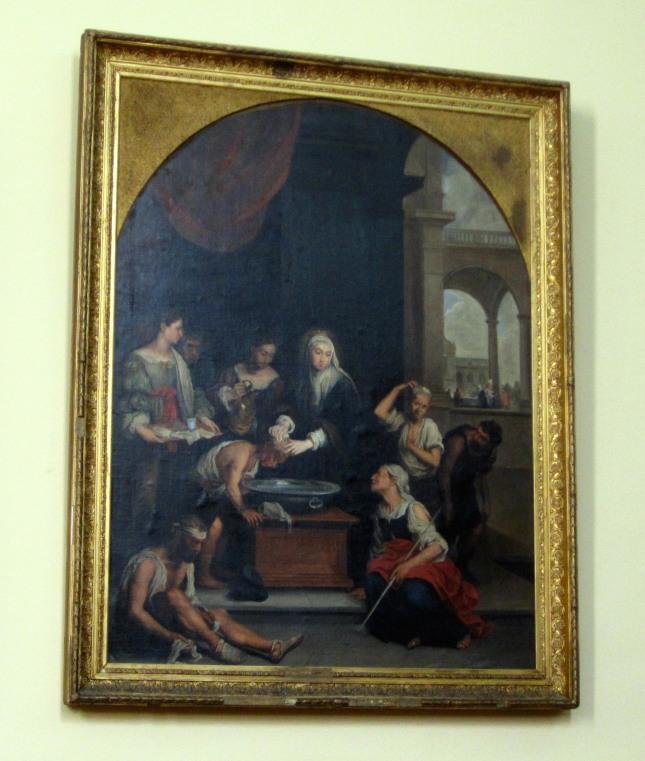 Capilla Ave Maria pintura